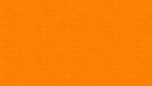 Makower Linen Texture Orange
